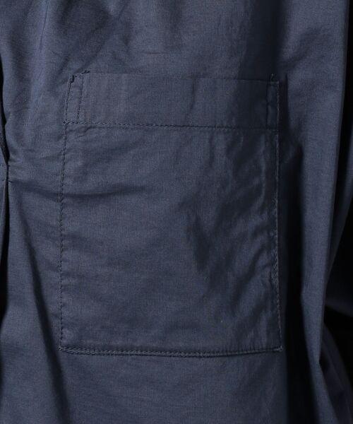 any FAM / エニィファム シャツ・ブラウス | 超長綿オーガニックローン スキッパーシャツ(ビックシルエット) | 詳細8