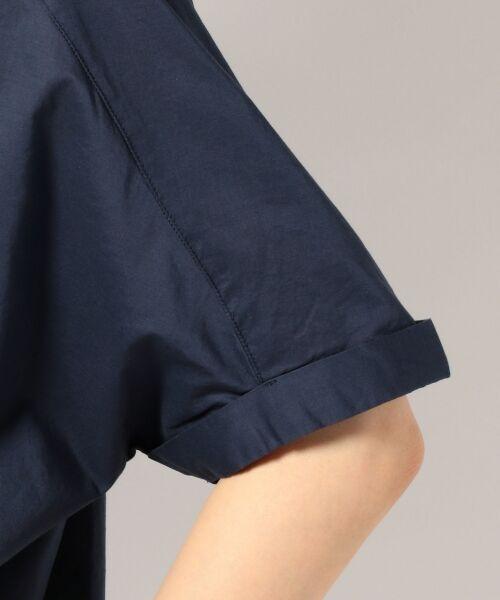 any FAM / エニィファム シャツ・ブラウス | 超長綿オーガニックローン スキッパーシャツ(ビックシルエット) | 詳細9