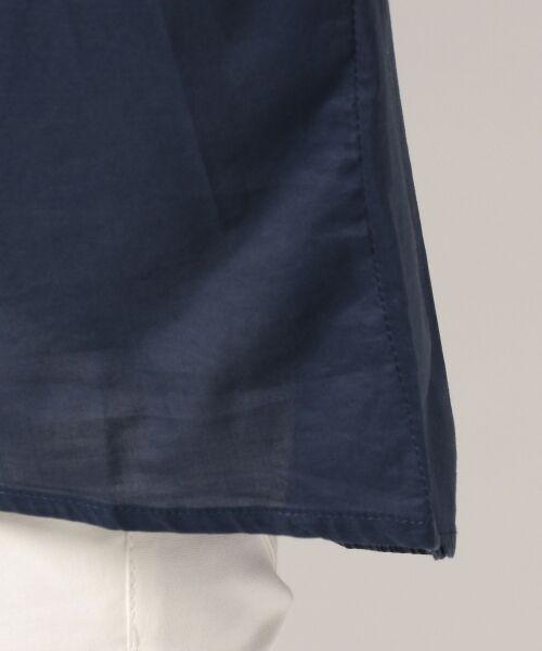 any FAM / エニィファム シャツ・ブラウス | 超長綿オーガニックローン スキッパーシャツ(ビックシルエット) | 詳細10