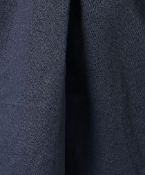 any FAM / エニィファム シャツ・ブラウス | 超長綿オーガニックローン スキッパーシャツ(ビックシルエット) | 詳細11