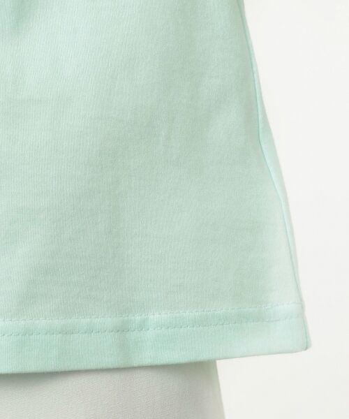 any FAM / エニィファム Tシャツ   【SCHOOL】40/2天竺 ブーケプリント Tシャツ   詳細11