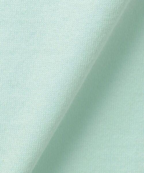 any FAM / エニィファム Tシャツ   【SCHOOL】40/2天竺 ブーケプリント Tシャツ   詳細13