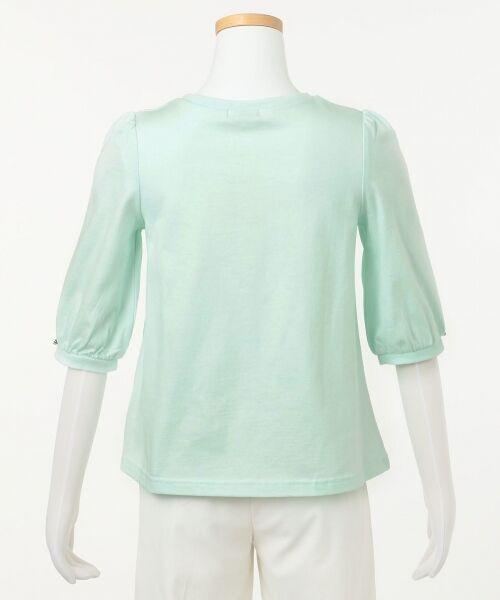 any FAM / エニィファム Tシャツ   【SCHOOL】40/2天竺 ブーケプリント Tシャツ   詳細8