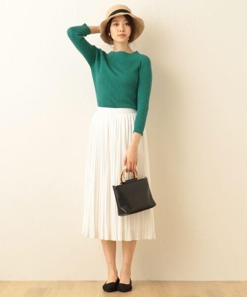 any FAM / エニィファム ミニ・ひざ丈スカート | ヴィンテージサテン プリーツスカート | 詳細3
