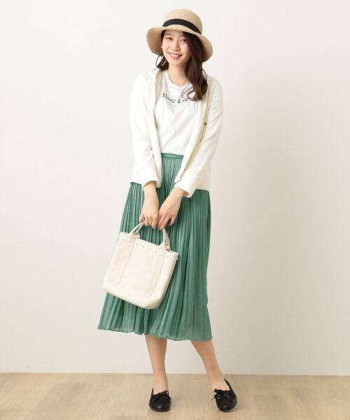 any FAM / エニィファム ミニ・ひざ丈スカート | ヴィンテージサテン プリーツスカート | 詳細18
