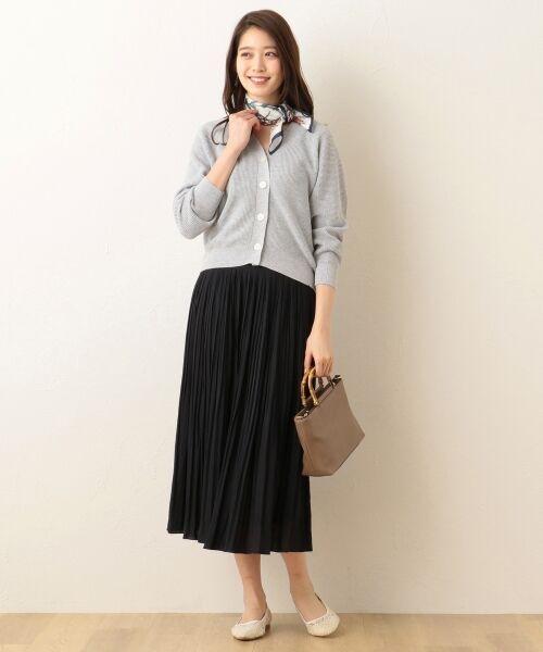 any FAM / エニィファム ミニ・ひざ丈スカート | ヴィンテージサテン プリーツスカート | 詳細27