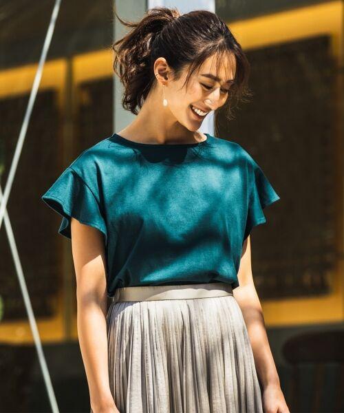 any FAM / エニィファム ミニ・ひざ丈スカート | ヴィンテージサテン プリーツスカート | 詳細29