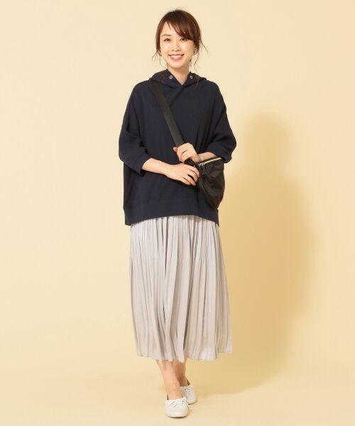 any FAM / エニィファム ミニ・ひざ丈スカート | ヴィンテージサテン プリーツスカート | 詳細30