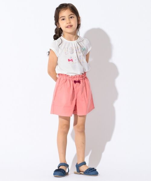 any FAM / エニィファム Tシャツ   【SCHOOL】フラワーロゴ 吸水速乾 Tシャツ   詳細1
