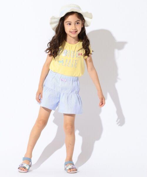 any FAM / エニィファム Tシャツ   【SCHOOL】フラワーロゴ 吸水速乾 Tシャツ   詳細4