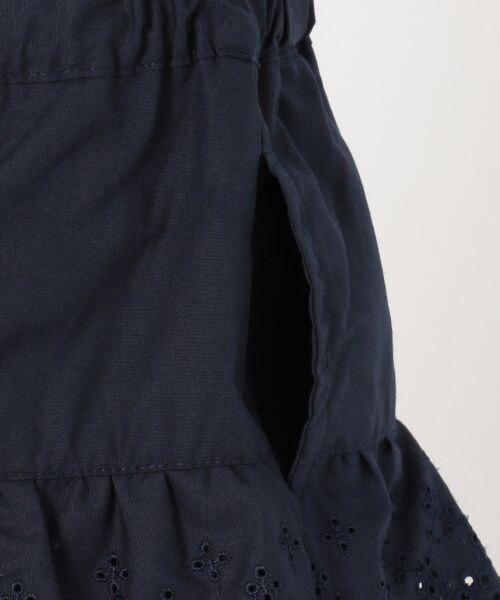 any FAM / エニィファム ショート・ハーフ・半端丈パンツ | 【KIDS】レーシーフリル キュロット | 詳細9