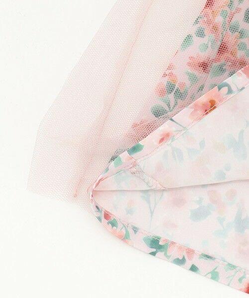 any FAM / エニィファム ミニ丈・ひざ丈ワンピース   花柄ドッキングワンピース   詳細11