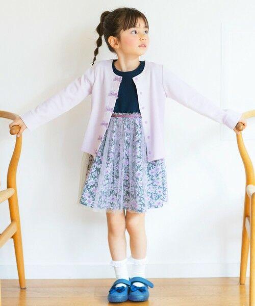 any FAM / エニィファム ミニ丈・ひざ丈ワンピース   花柄ドッキングワンピース   詳細13