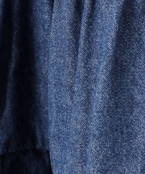any FAM / エニィファム ミニ丈・ひざ丈ワンピース | デニム ティアード ジャンパースカート | 詳細11