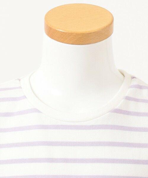 any FAM / エニィファム カットソー | ボーダーレースアップTシャツ | 詳細11
