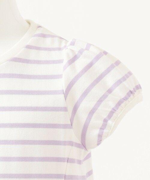 any FAM / エニィファム カットソー | ボーダーレースアップTシャツ | 詳細12