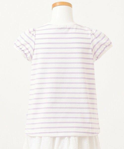 any FAM / エニィファム カットソー | ボーダーレースアップTシャツ | 詳細10