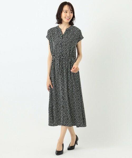 any FAM / エニィファム ロング・マキシ丈ワンピース | 【洗える】プリントガウン ワンピース | 詳細22