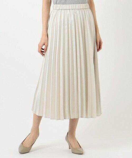 any FAM / エニィファム ミニ・ひざ丈スカート | 【洗える】ダブルプリーツ スカート | 詳細3