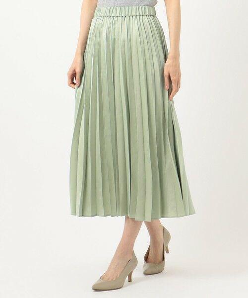 any FAM / エニィファム ミニ・ひざ丈スカート | 【洗える】ダブルプリーツ スカート | 詳細6