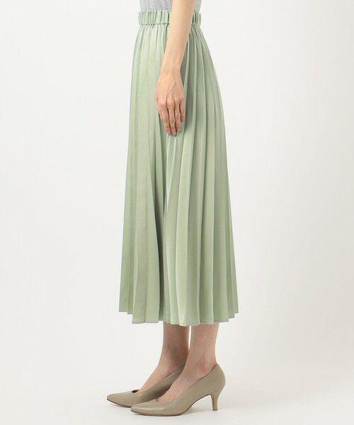 any FAM / エニィファム ミニ・ひざ丈スカート | 【洗える】ダブルプリーツ スカート | 詳細7