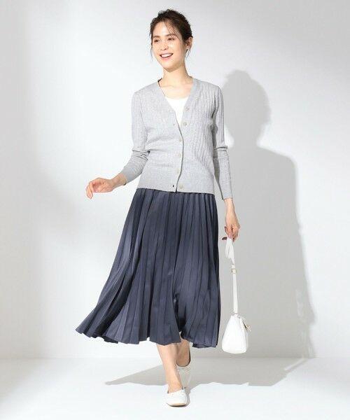 any FAM / エニィファム ミニ・ひざ丈スカート | 【洗える】ダブルプリーツ スカート | 詳細15