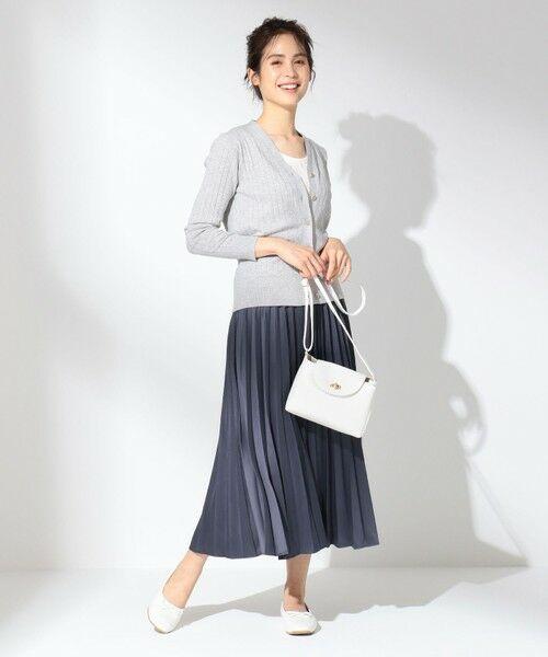 any FAM / エニィファム ミニ・ひざ丈スカート | 【洗える】ダブルプリーツ スカート | 詳細16