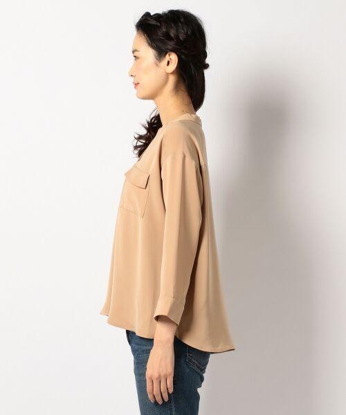any SiS / エニィスィス Tシャツ | 【洗える】タックニュアンス ブラウス | 詳細4