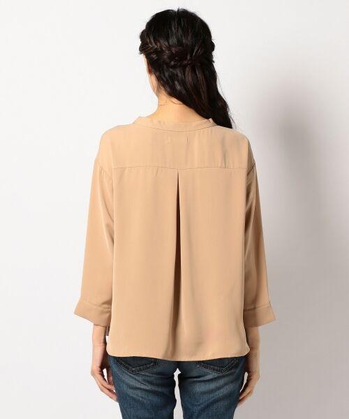 any SiS / エニィスィス Tシャツ | 【洗える】タックニュアンス ブラウス | 詳細5
