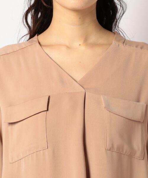 any SiS / エニィスィス Tシャツ | 【洗える】タックニュアンス ブラウス | 詳細6