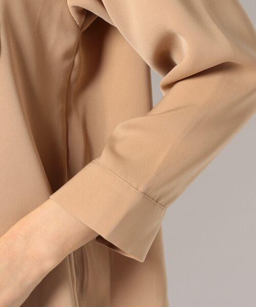 any SiS / エニィスィス Tシャツ | 【洗える】タックニュアンス ブラウス | 詳細7