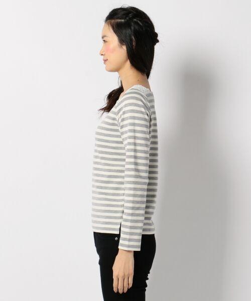 any SiS / エニィスィス Tシャツ | レーシーフレンチボーダー カットソー | 詳細5