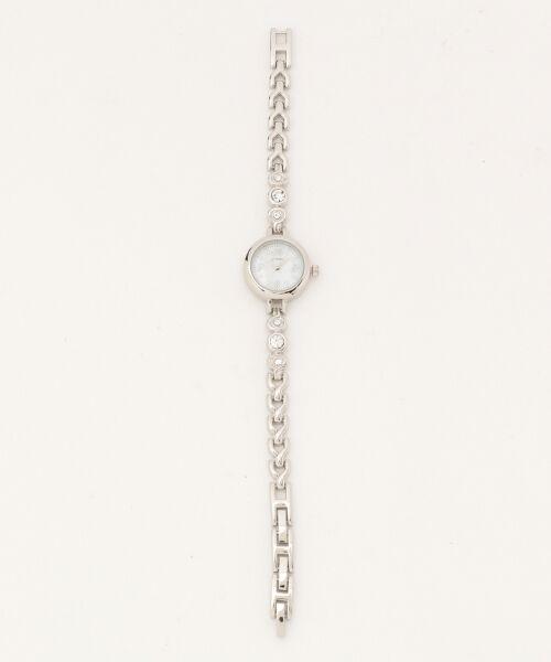 any SiS / エニィスィス 腕時計 | ビジューライクエレガンス ウォッチ(腕時計)(シルバー系)