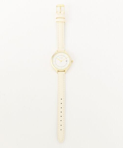 any SiS / エニィスィス 腕時計 | 【WEB限定】フェミニンフェイクレザーベルト ウォッチ(腕時計)(アイボリー系)