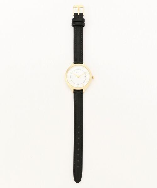 any SiS / エニィスィス 腕時計 | 【WEB限定】フェミニンフェイクレザーベルト ウォッチ(腕時計)(ブラック系)