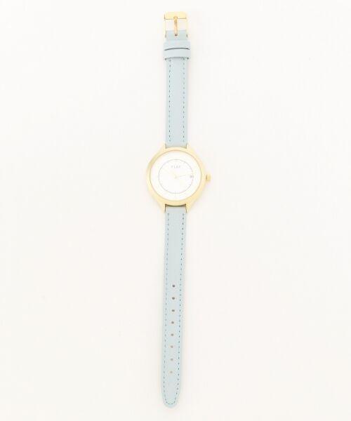 any SiS / エニィスィス 腕時計 | 【WEB限定】フェミニンフェイクレザーベルト ウォッチ(腕時計)(スカイブルー系)