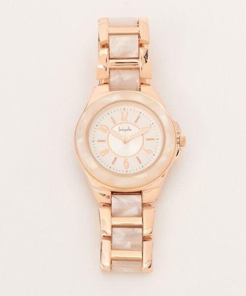 any SiS / エニィスィス 腕時計 | エレガントフレーム ウォッチ(腕時計)(ピンク系)