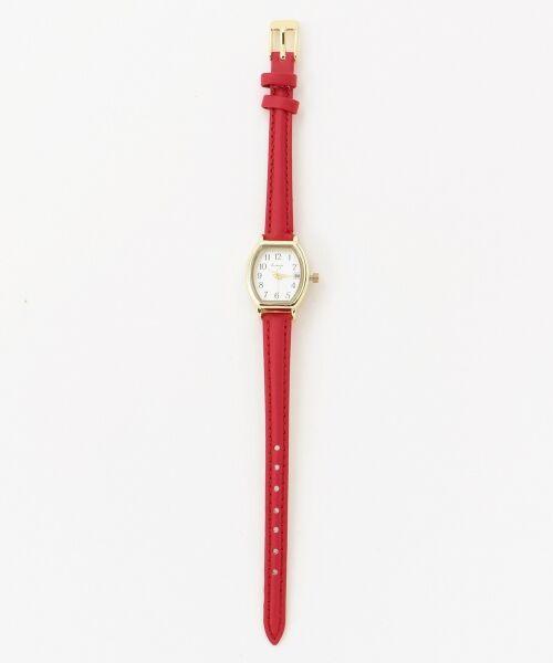 any SiS / エニィスィス 腕時計 | コンパクトフェイス ウォッチ(腕時計)(レッド系)