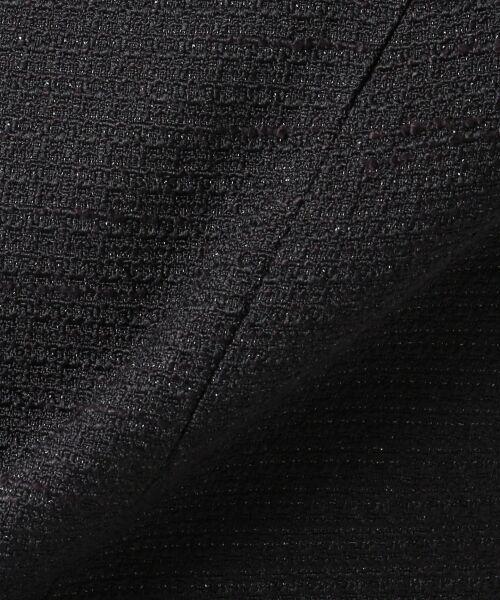 any SiS / エニィスィス ノーカラージャケット | 【セットアップ対応】リップルボーダーストレッチノーカラー ジャケット | 詳細16