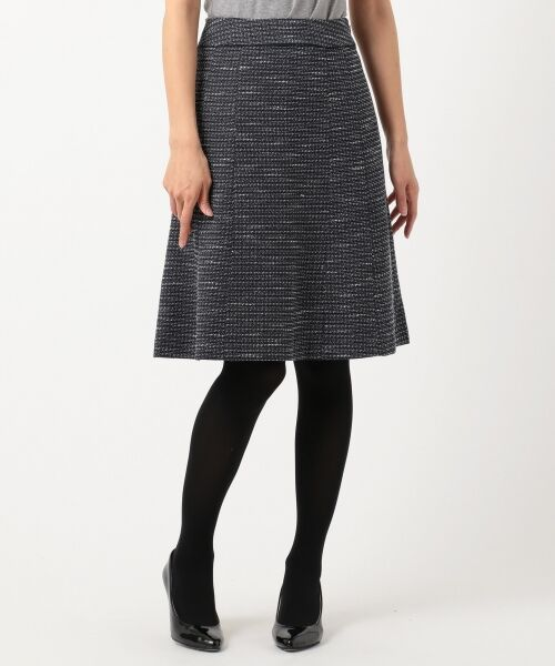 any SiS / エニィスィス ミニ・ひざ丈スカート | 【セットアップ対応】リップルボーダーストレッチ スカート | 詳細8