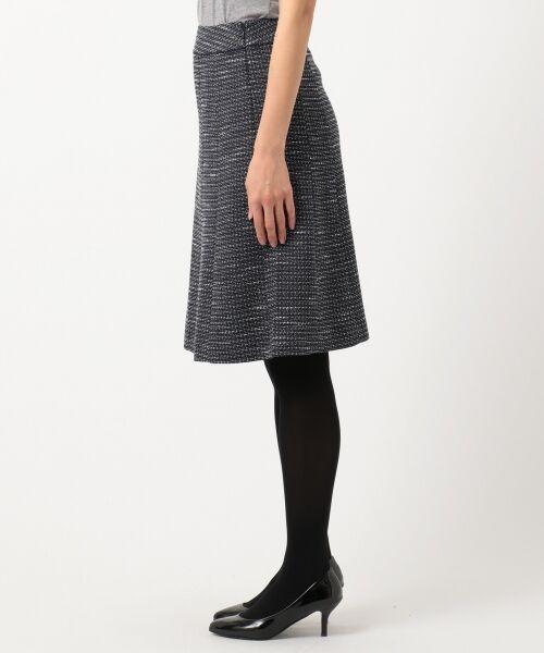 any SiS / エニィスィス ミニ・ひざ丈スカート | 【セットアップ対応】リップルボーダーストレッチ スカート | 詳細9