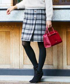 【WEB限定色あり】リバーラップ スカート
