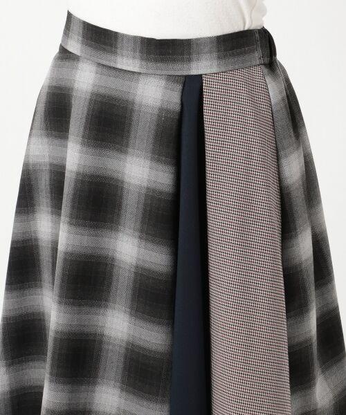 any SiS / エニィスィス ミニ・ひざ丈スカート | 【洗える】チェック柄切り替え スカート | 詳細10