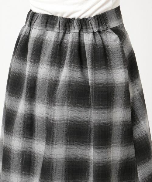 any SiS / エニィスィス ミニ・ひざ丈スカート | 【洗える】チェック柄切り替え スカート | 詳細11