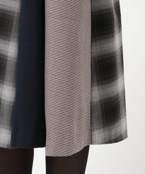 any SiS / エニィスィス ミニ・ひざ丈スカート | 【洗える】チェック柄切り替え スカート | 詳細12