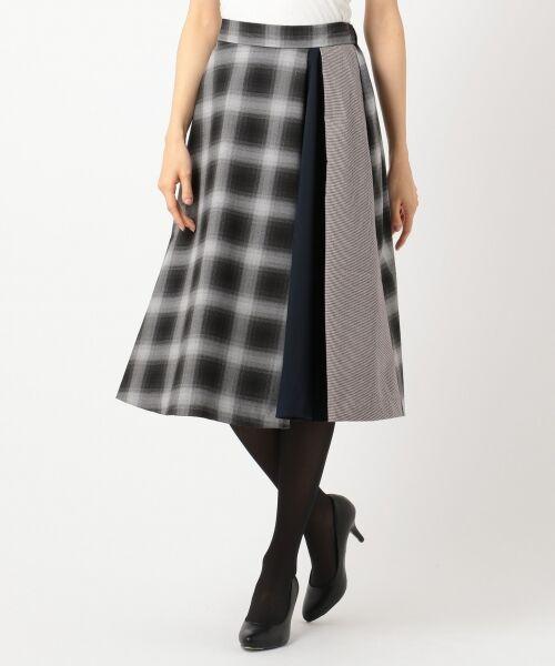 any SiS / エニィスィス ミニ・ひざ丈スカート | 【洗える】チェック柄切り替え スカート | 詳細7