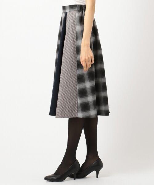 any SiS / エニィスィス ミニ・ひざ丈スカート | 【洗える】チェック柄切り替え スカート | 詳細8