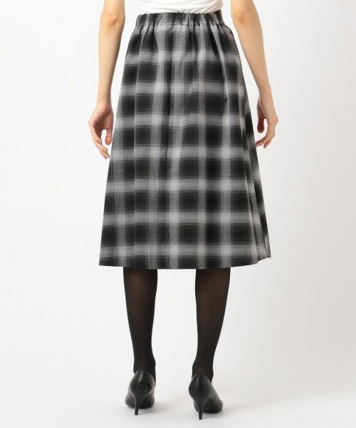 any SiS / エニィスィス ミニ・ひざ丈スカート | 【洗える】チェック柄切り替え スカート | 詳細6