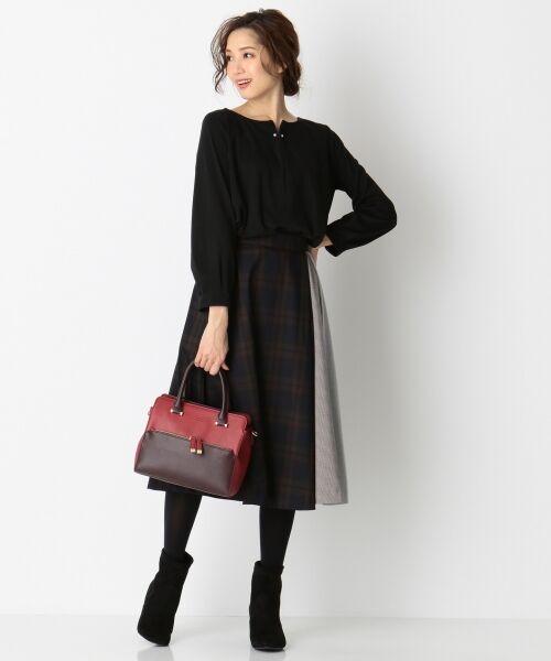 any SiS / エニィスィス ミニ・ひざ丈スカート | 【洗える】チェック柄切り替え スカート | 詳細16