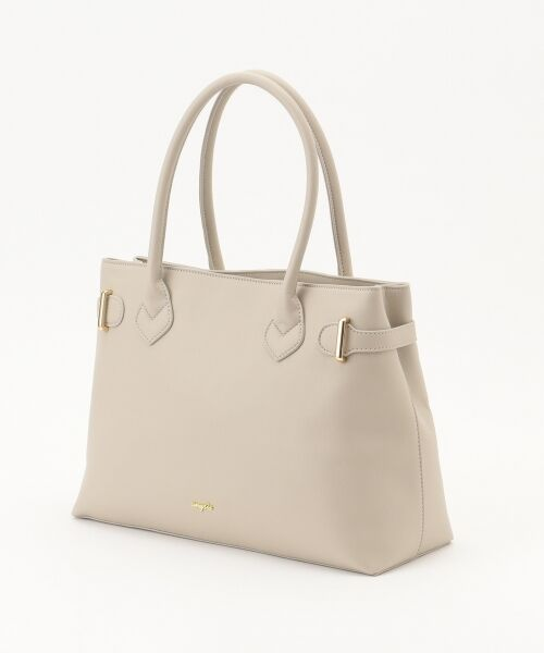 any SiS / エニィスィス トートバッグ | 【A4サイズ収納可】サイドベルト トートバッグ | 詳細6